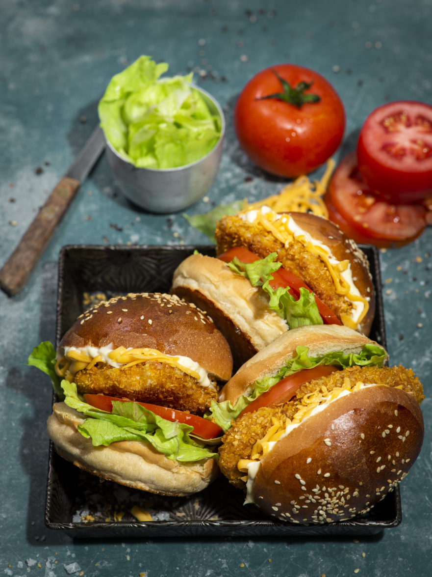 Crispy Chicken Burger Jan Braai